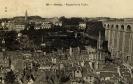 Vue des églises Saint-Melaine et Saint-Martin